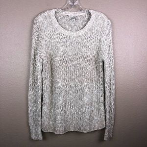 Lucky Brand size Medium Chunky Open Knit Sweater